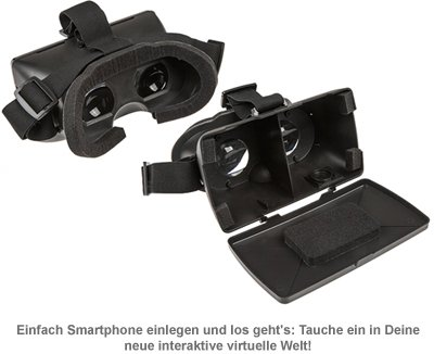 Virtual Reality Brille für Smartphones - 3