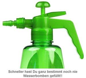 Wasserbombenfüller - Pumpe mit 100 Wasserballons - 3