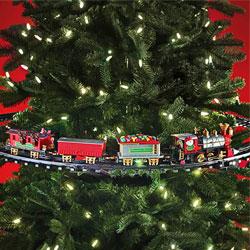 Weihnachtszug für den Tannenbaum - 3