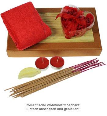 Wellness Set mit Rosenblättern - 2