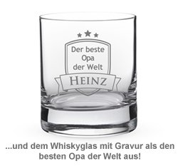 Whisky Set Deluxe - Bester Opa - 3