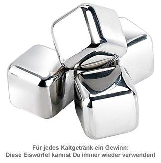 Wiederverwendbare Eiswürfel - 4er Set - 2