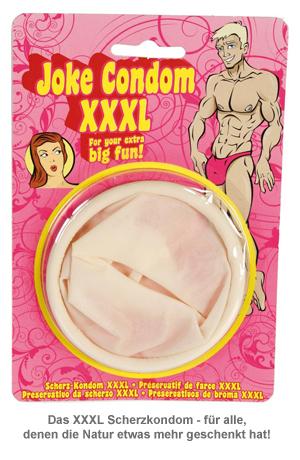 XXL Kondom - Scherzartikel - 2