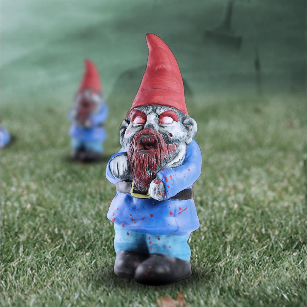Zombie Gartenzwerg Grusel Für Den Garten