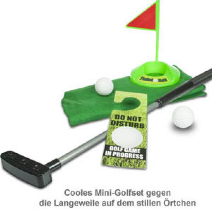 Toiletten-Golf