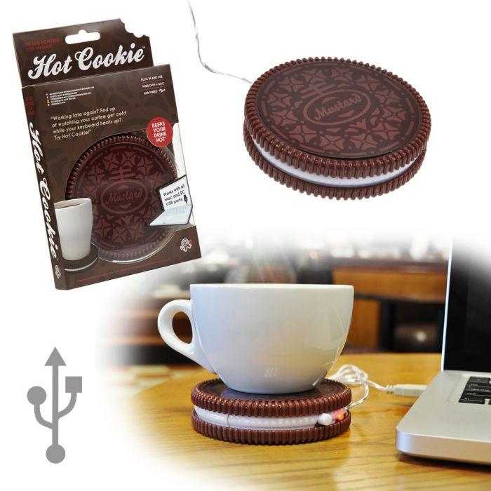 Individuellküchenzubehör - USB Tassenwrmer Hot Cookie - Onlineshop Monsterzeug