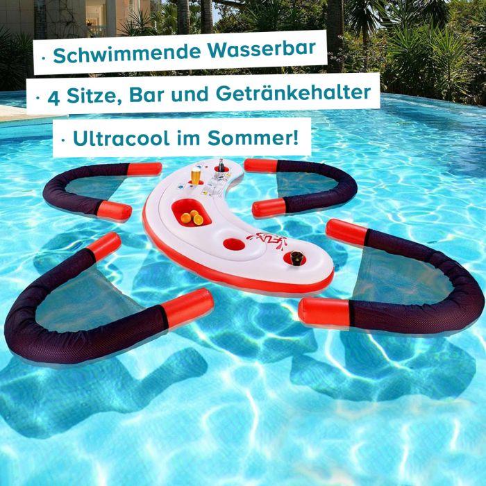 Schwimmende Wasser-Bar