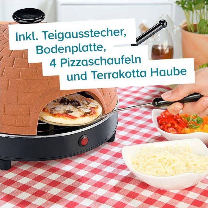 Mini Pizza Stein-Ofen