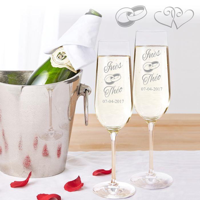 Flûtes à champagne – Mariage