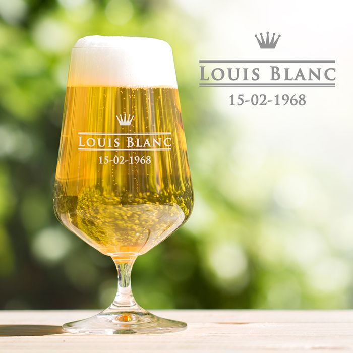 Verre à bière tulipe - royal