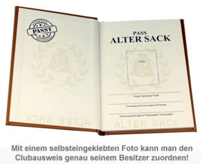 Clubausweis der Alten Säcke