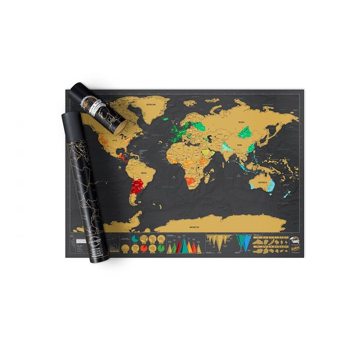 Scratch Map - Deluxe
