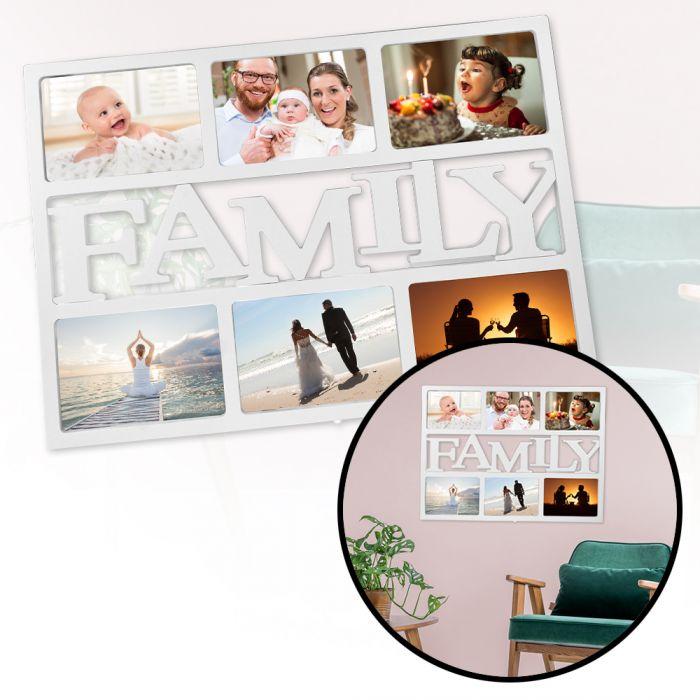 cadre photo family. Black Bedroom Furniture Sets. Home Design Ideas