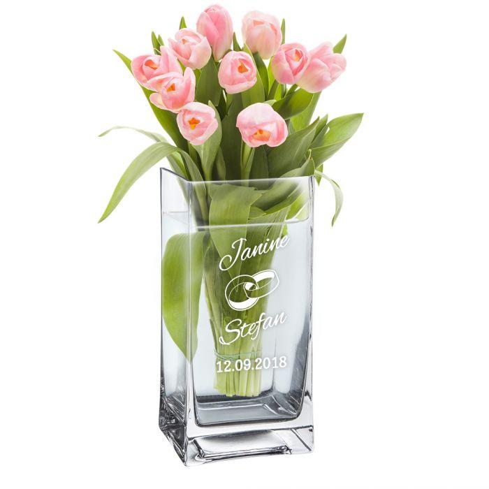 Vase pour le mariage - personnalisée