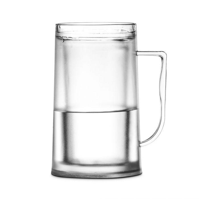 Doppelwandiger Bier Kühl Krug - für erfrischend kühlen Biergenuss