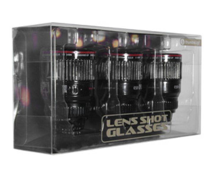 Kamera Objektiv Espressogläser
