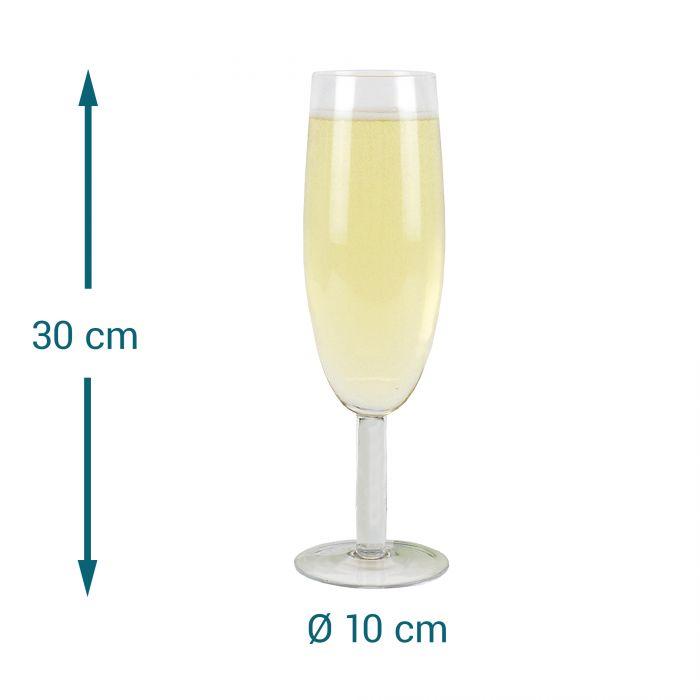 Riesen Sektglas