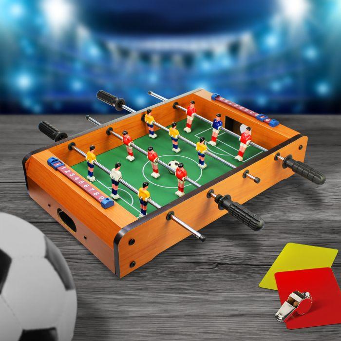 Partybedarfpartyspiele - Tisch Kicker aus Holz - Onlineshop Monsterzeug