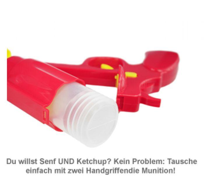 Senf- und Ketchup Spender - Pistole