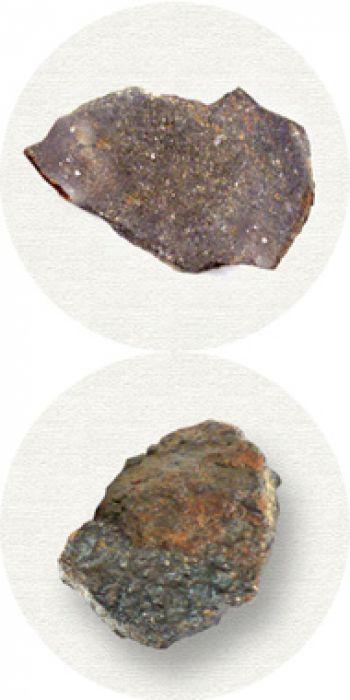 Echter Meteoritensplitter