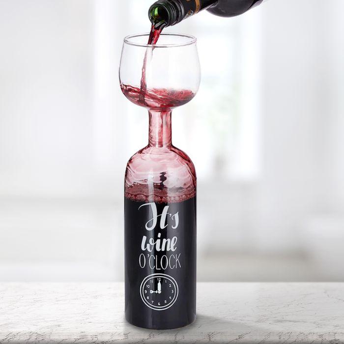 Verre à vin intarissable