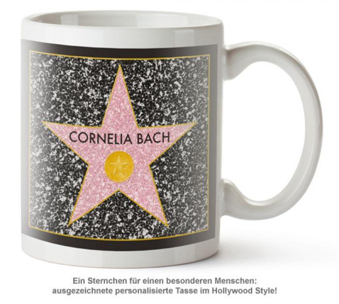 Star of Fame - personalisierte Tasse