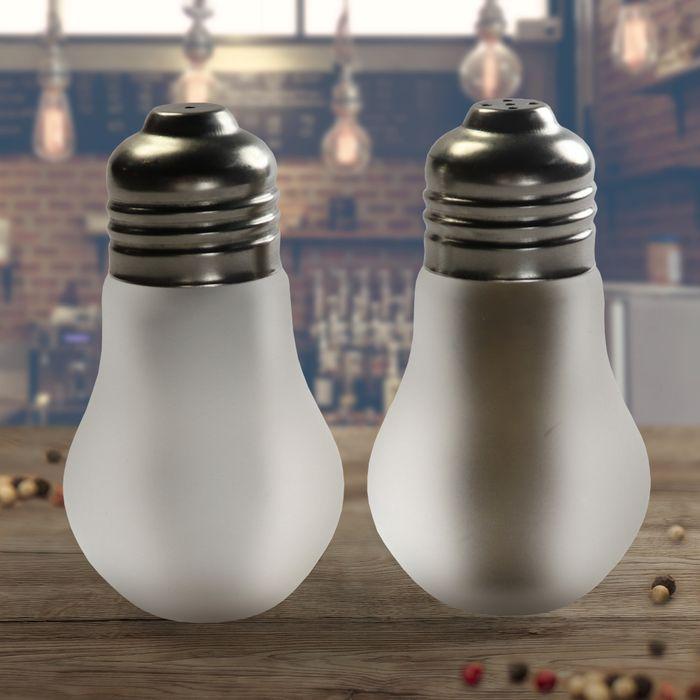 Salière et poivrière - Ampoules
