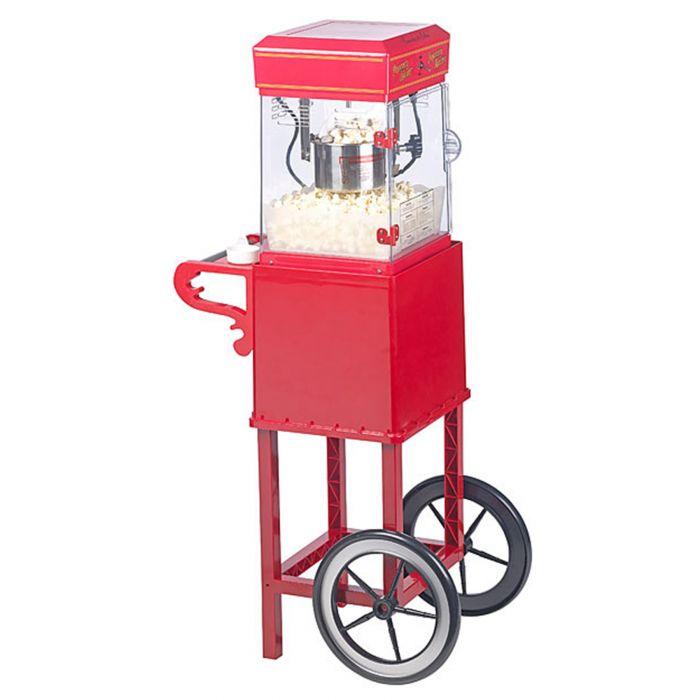Popcornmaschine mit Wagen - Premium Edition