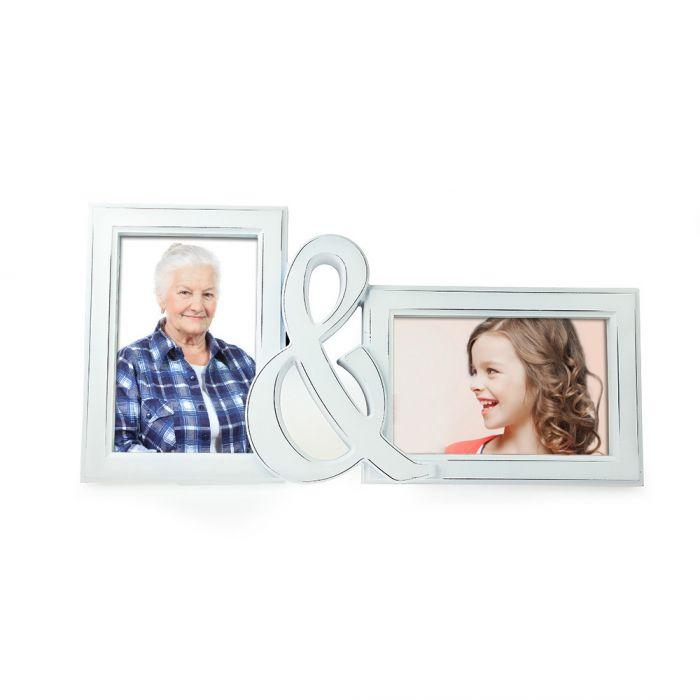 Bilderrahmen - Oma & Ich - 2er Fotorahmen als Geschenk - 15x10cm