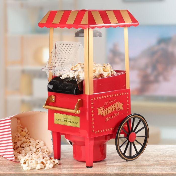 Ausgefallenoriginelles - Retro Popcornmaschine mit Wagen - Onlineshop Monsterzeug