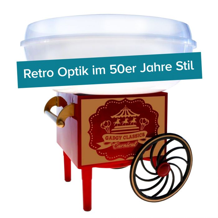 Retro Zuckerwattemaschine
