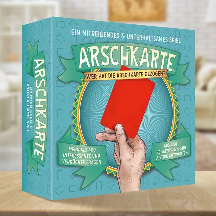 Partybedarfpartyspiele - Kartenspiel Arschkarte - Onlineshop Monsterzeug