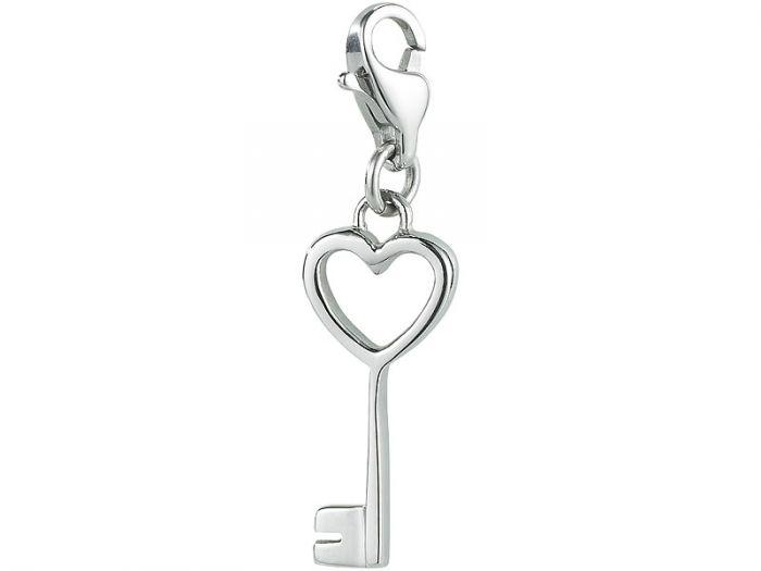 Pendentif de charme – La clé de mon cœur