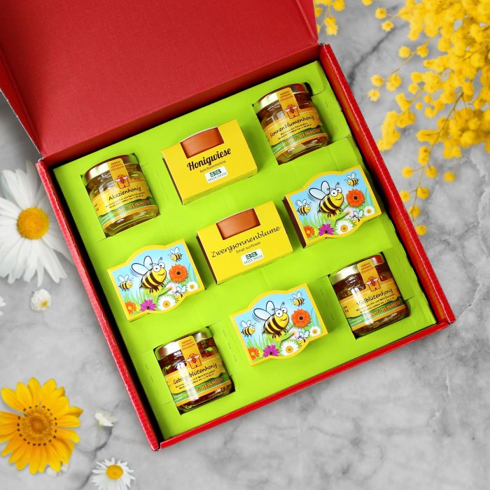 Köstlichgeschenksets - Geschenkset Honigwiese - Onlineshop Monsterzeug