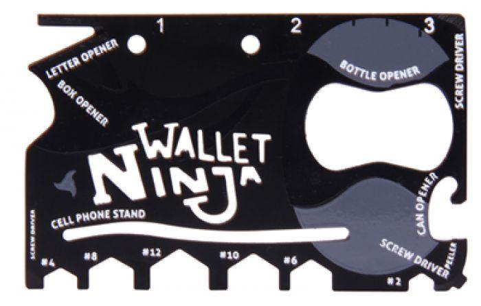 Outil multifonction 18 en 1 – Wallet Ninja