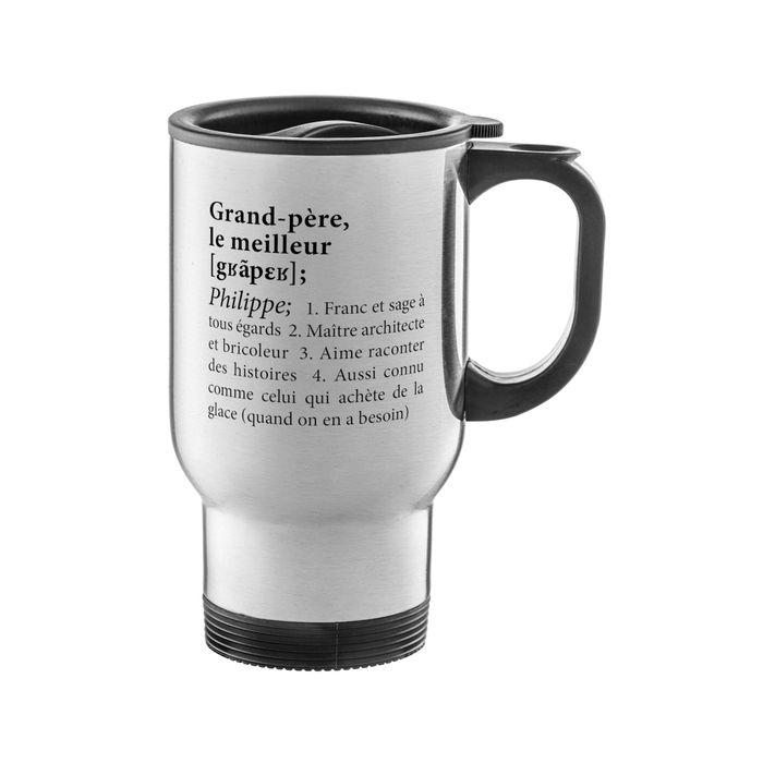 Mug isotherme personnalisé - Définition meilleur Papi