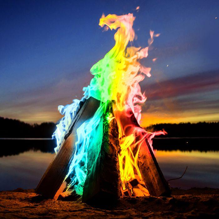 Feu mystique - Poudre pour colorer les flammes