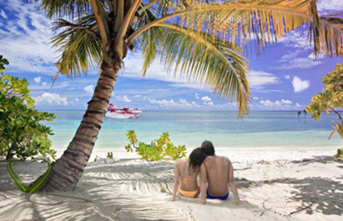 Herzinsel für Verliebte