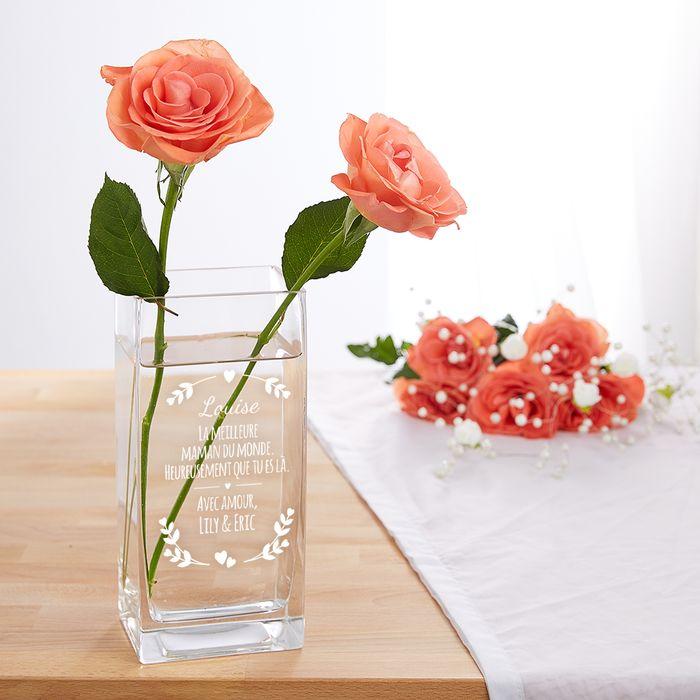 Vase pour maman - personnalisé