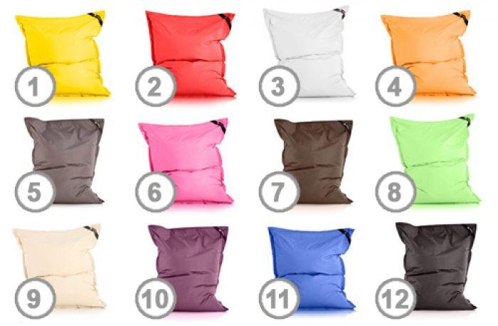 Pouf confort XXL - 12 couleurs