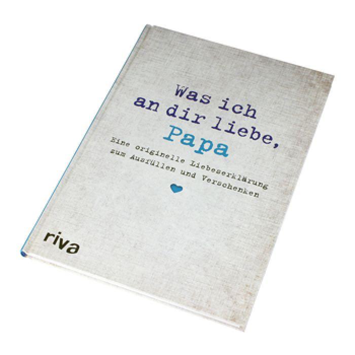 Buch zum Ausfüllen - Was ich an Dir liebe, Papa
