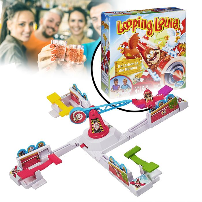 looping louie partyspiel verr ckter klassiker f r jung und alt. Black Bedroom Furniture Sets. Home Design Ideas