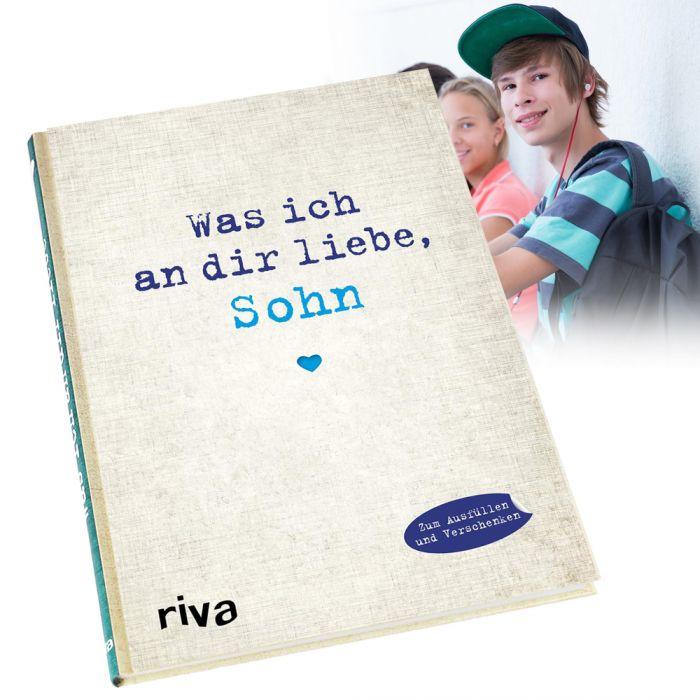Buch zum Ausfüllen - Was ich an Dir liebe, Sohn
