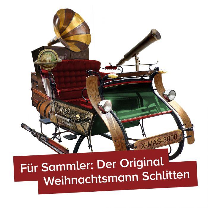 Original Weihnachtsmann Schlitten