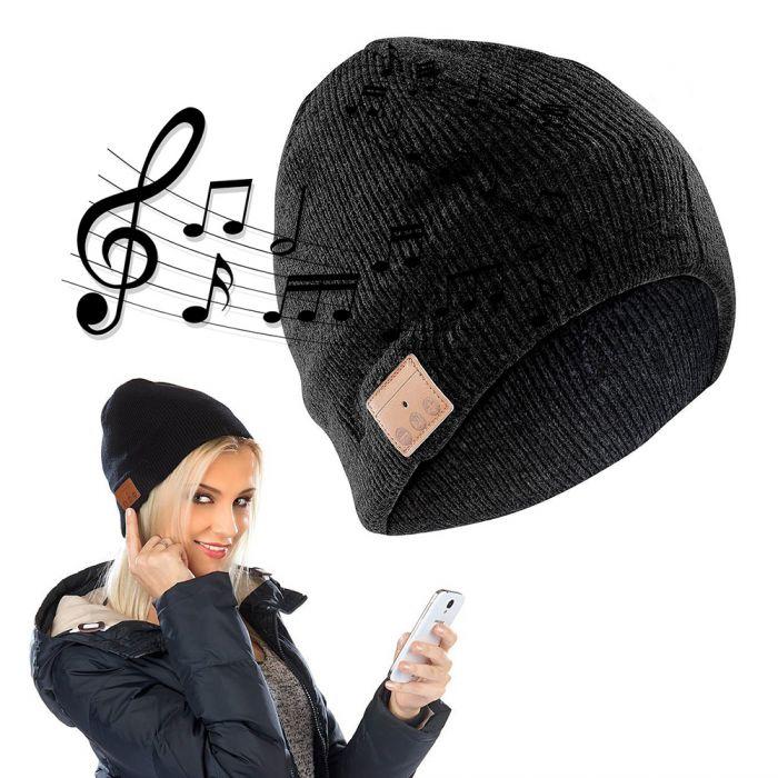 Bonnet beanie bluetooth avec écouteurs