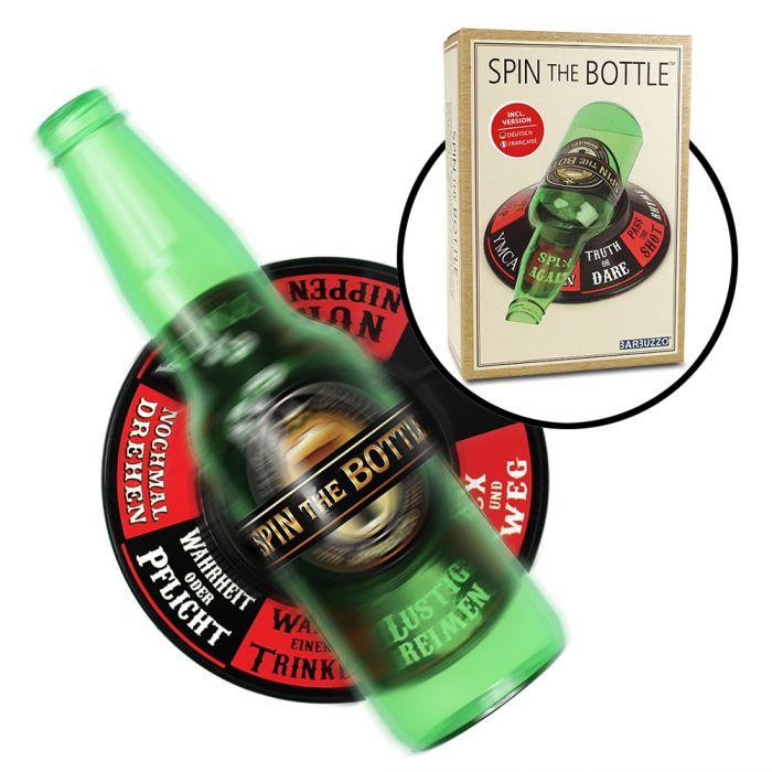 Partybedarfpartyspiele - Flaschendrehen Spiel Spin the bottle - Onlineshop Monsterzeug