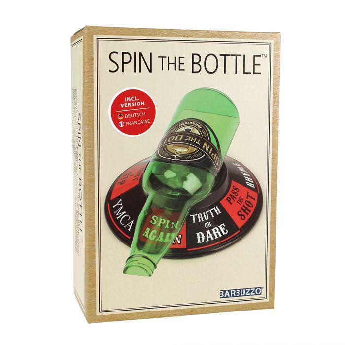 Flaschendrehen Spiel - Spin the bottle