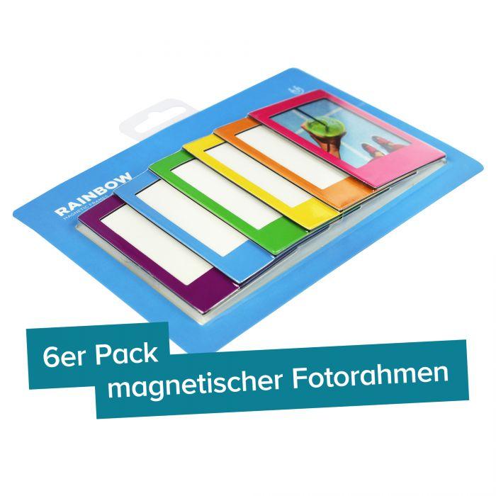 Magnet Bilderrahmen - Fotomagnete Set - Kühlschrankmagnete