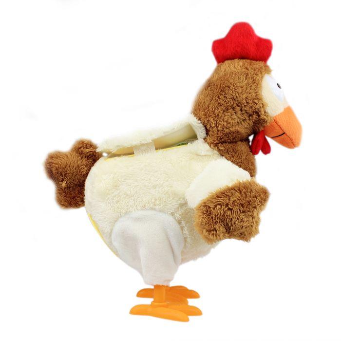 Eierlegendes Kuscheltier Huhn mit Sound