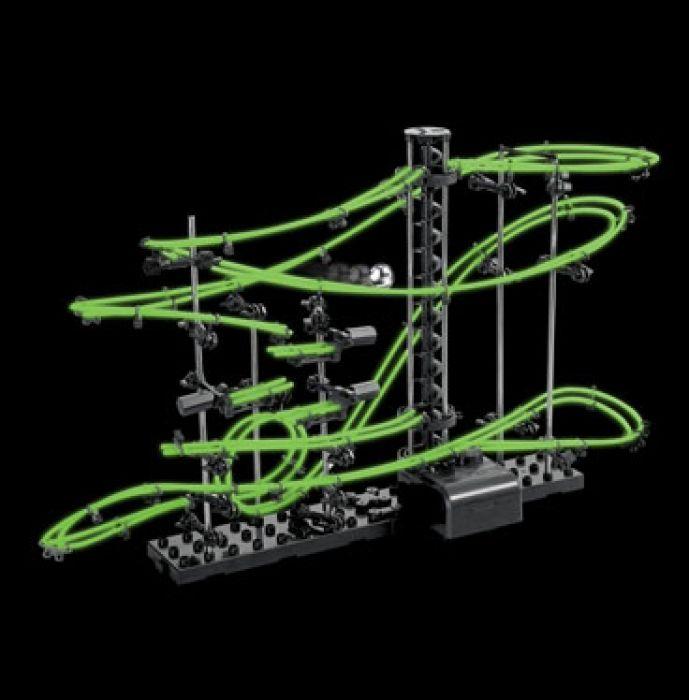 Kugelbahn mit Looping - Nachtleuchtende Edition
